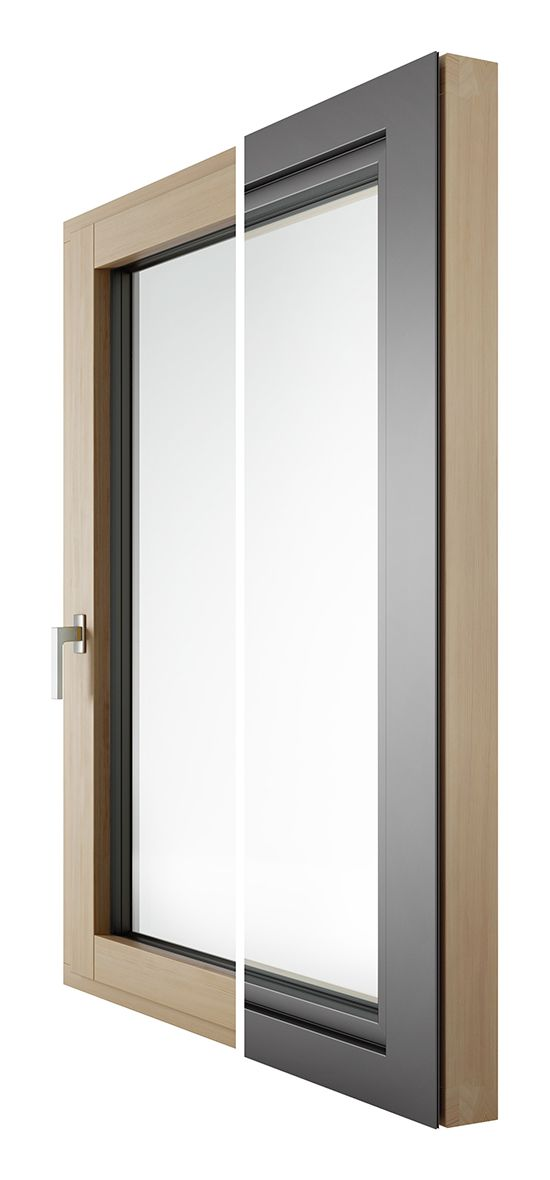 Drvo-aluminijski prozor - STYLE - Lokve Quality Windows