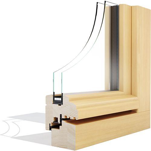 Eurolok 68 HISTORIC drveni prozor - Lokve Quality Windows