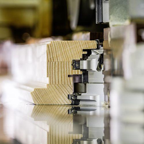 Kombinacija lameliranog drva smreka, ariš ili hrast - lokve Quality Windows