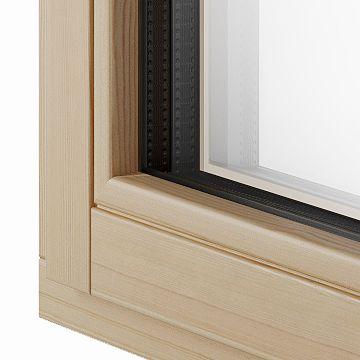 Letvica za ostakljivanje drvo-aluminijskih prozora - Lokve Quality Windows
