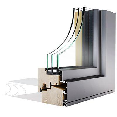 Mega Alulok 110 STYLE drvo-aluminjski prozor - Lokve Quality Windows