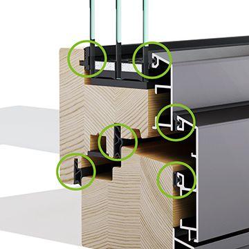 Šesterostruko brtvljenje - drvo-aluminijske prozore - Lokve Quality Windows