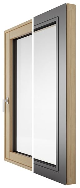 Drvo aluminij prozori DESIGN kolekcija - Lokve Quality Windows