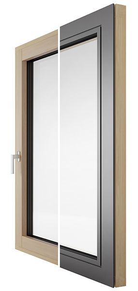 Drvo-aluminij prozori FLAT kolekcija - Lokve Quality Windows